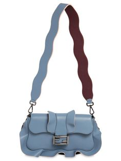 6d4878127cdd Baguette Ruffled Leather Bag. Fendi PursesFendi ...