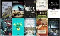 Libros más vendidos semana del 4 de julio al 10 de julio 2016 en ficción