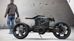 BMW Motorrad Concept 'Nove Cento': The Smart Motorcycles for the Future Concept Motorcycles, Cool Motorcycles, Motorbike Design, Bicycle Design, Bobber Custom, Custom Bikes, Lamborghini, Ferrari, Motos Retro