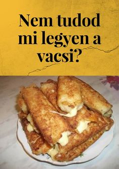 Dinner Recipes Easy Quick, Quick Meals, Gourmet Hot Dogs, Hungarian Recipes, Easy Healthy Breakfast, Recipes From Heaven, Diy Food, Food Inspiration, Mexican Food Recipes