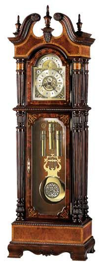 William R. Langford Grandfather Clock by Howard Miller
