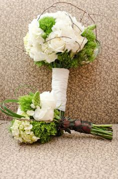 Bride's and Bride's Maid Flowers - Rustic