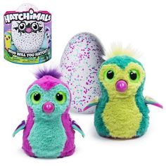 Hatchimals Pengualas Teal Egg Electronic Plush    PRE-ORDER  COMING MARCH 2017