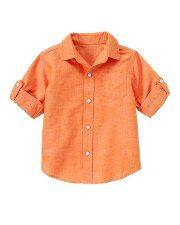 Linen and cotton  -- for boys for wedding.  Not in orange obviously!  Janie and Jack - Boy 0-12 yrs -  Boys Clothes,