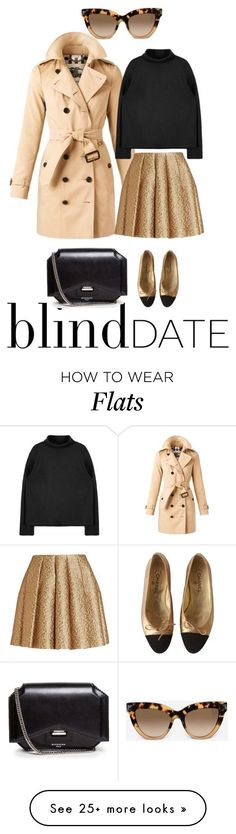 """""""BBD"""" by waytotheblue on Polyvore featuring Burberry, Creatures Of The Wind, Chanel, Valentino, Givenchy, women's clothing, women, female, woman and misses"""