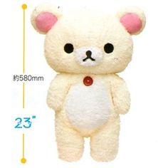 "~ 23"" tall furry plushie of Little Bear!"