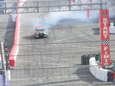 Tanner Foust earning his gold medal in Gymkhana at X Games LA 2013 ☆ Photo credit Linda Olsen for Rallycross360 ☆ Pinned by www.Rallycross360...