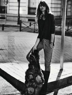 Davinia Pelegri x Elle Spain November 2012 photographed by Xavi Gordo 2