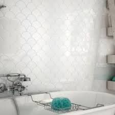 Image Result For White Fish Scale Tiles Bathroom Fish Scale Tile Bathroom White Fish Scale Tile Fish Scale Tile