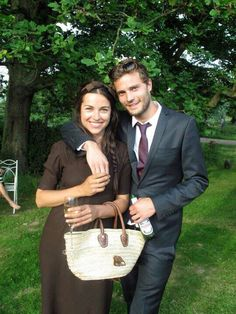 Jamie and Amelia looking so happy and in love