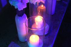 At night a candle's brighter than the sun (Sting)