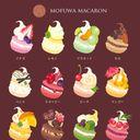 ようこそmofuwaのマカロンショップへ。おいしいマカロンがたくさんあるよ。