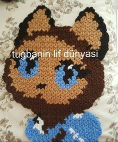 Kedi Lif Yapılışı #baby #knit #knitting #handmade #örgü