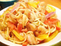 Creamy Cajun Shrimp Pasta - Jillian's Kitchen