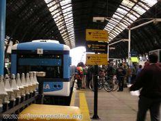 estación de trenes en Buenos Aires
