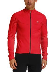 Pearl Izumi Men's Select Thermal Jersey, True Red, Medium - http://ridingjerseys.com/pearl-izumi-mens-select-thermal-jersey-true-red-medium/
