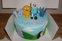 Gluten free 'Adventure Time' vanilla cake