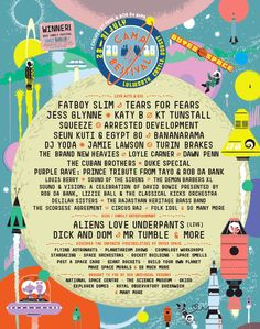 Camp Bestival's space themed 2016 lineup