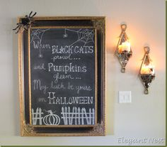 Halloween quote for chalk board...
