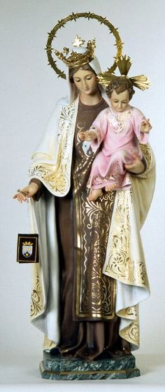 Our Lady of Mount Carmel statue from Spain