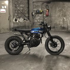 Yamaha TW 125 scrambler by Lost Mechanics