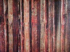 Brown / Red Wood Floor 4.5'x6'
