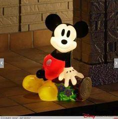 Mickey Outdoor Light