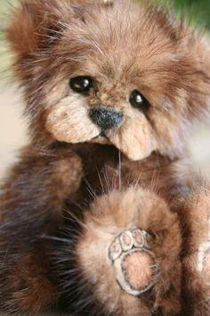 Sadie Mink Teddy by Kimbearlys Originals