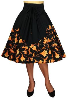 1950s Circle Skirt By Amber Middaugh Standard Size $49.95 Plus Size $55.95  http://www.chicstar.com/storefront/listproducts.aspx?id=13229
