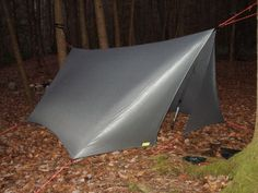Camping gear tarp for hammock- Like this idea for a Hammock cover