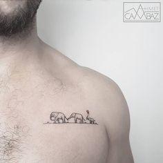 Türk Dövmeci Ahmet Cambaz'dan Nefesinizi Kesecek 30 Dövme Örneği Sanatlı Bi Blog 28