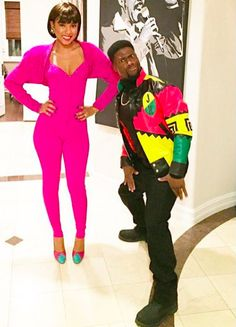 halloween costumes 2015 comedian kevin hart as martin payne and fiance eniko as gina waters
