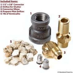 "Firegear 18"" And 21"" Fire Pit Propane Conversion Kit"