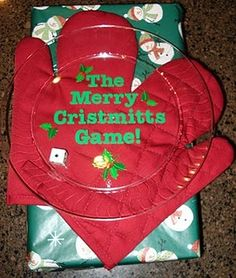 Christmas game - sounds like fun for a small group. Gonna have to try this.