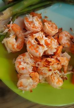 — Baked Coconut Honey Shrimp