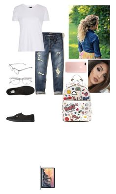 """""""Untitled #633"""" by luisa-gab ❤ liked on Polyvore featuring Hollister Co., Vans, Anya Hindmarch, Topshop and Apple"""