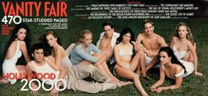 2000  From left: Penélope Cruz, Wes Bentley, Mena Suvari, Marley Shelton, Chris Klein, Selma Blair, Paul Walker, Jordana Brewster, and Sarah Wynter.