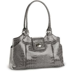 George Women's Fashion Turnlock Mid 4 Poster Bag from Walmart.