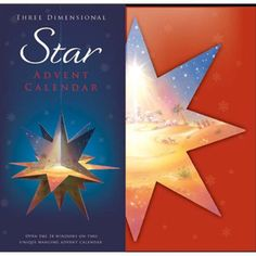 3-D Star-shaped Advent Calendar
