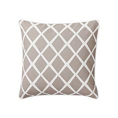 Bark Diamond Pillow Cover | Serena & Lily