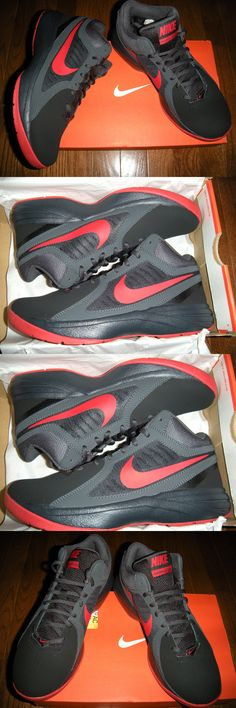 clothing and accessories: Mens Nike Overplay Viii Black/Red/Gray Basketball Shoes Size 7 (New In Box) -> BUY IT NOW ONLY: $59.99 on eBay!