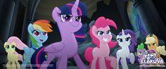 Nämä ponit ovat pysäyttämättömiä ✨  MY LITTLE PONY ELOKUVA nyt elokuvateattereissa