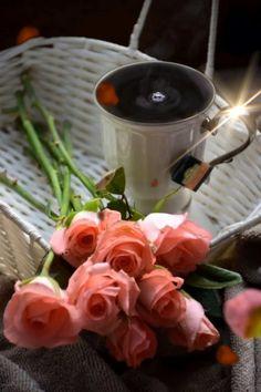 Coffee Gif, Coffee Break, Café Chocolate, Coffee Flower, Good Morning Coffee, Good Morning Flowers, Coffee Photography, Tea Art, My Cup Of Tea