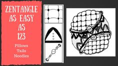 Zentangle Patterns for Beginners  Tanglepatterns | Tangle Patterns