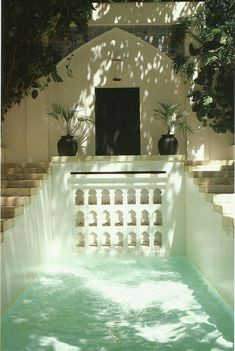 Shangri La's garden architecture was designed to evoke the Mughal dynasty Read more: Photos of Shangri La – Shangri La Hawaii – Doris Duke - ELLE DECOR