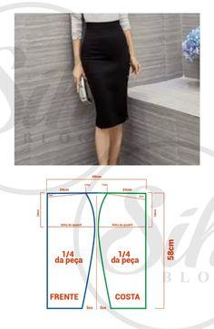 Skirt diy pattern tuto jupe 22 new Ideas Skirt Patterns Sewing, Vintage Sewing Patterns, Clothing Patterns, Vintage Fabrics, Pattern Sewing, Sewing Clothes, Diy Clothes, Pattern Fashion, Skirts