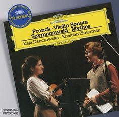 FRANCK Violin Sonata  - Danczowska / Zimerman - Deutsche Grammophon