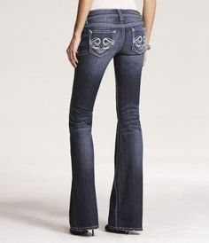 REROCK SUPER THICK STITCH BOOT CUT JEAN at Express (orig.$98.00 ...