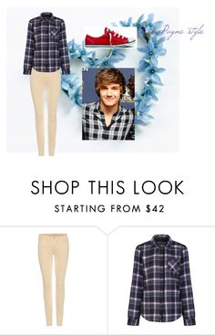 """""""Liam Payne Style"""" by niallersprincess4321 on Polyvore featuring 7 For All Mankind, Brakeburn and Converse"""