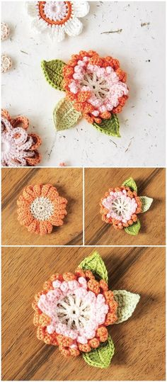 I have gathered a list of easy and awesome crochet Flower patterns for your inspiration. Check out some of your favorite crochet Flowers here and get inspired.Corsage crochet pattern for British Flowers